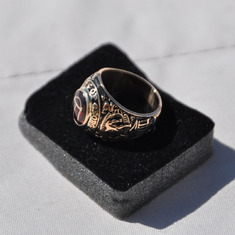 Loy's Univ of Ga Class of '42 ring (restored)