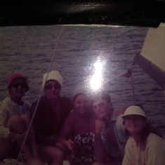 Hawaii.. Amelia(Mel) Lucy(Mom)Betty Ron and Pam(me)