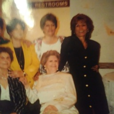 Top: L to R Margaret(Chicka)Lucy(Mom)