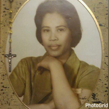 Our loving mother we love and miss you much. Strong and loving mother, Luz Gordon.
