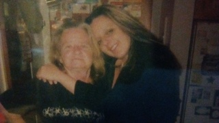 My beautiful mother and myself...How GREATFULL I am to have had her as my mom and BEST FRIEND