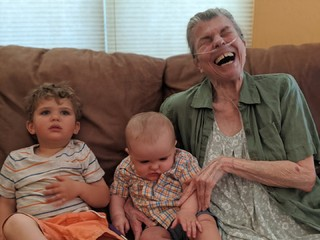 This Just Highlights Mom's Ability to Stay Happy, Positive, and Make Jokes Even as She Neared the End of Her Life.