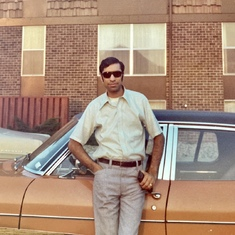 Dad looking cool in the 70's