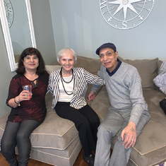 Thanksgiving 2019 with Mark's mom Theresa