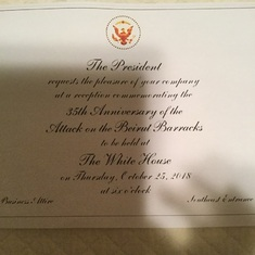 35th Beirut White House Commemoration