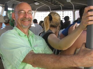 Riding the local transportation in Rio was maybe a little terrifying