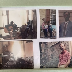 A photo of some photos Marc had at his house