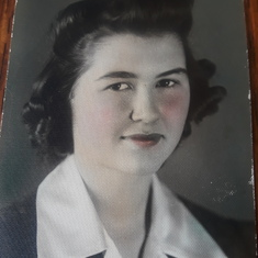 Mom High School 1943