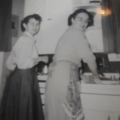 Mom,Betty Durrant Kansas Farm 1950?