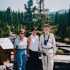 2001 trip back to Canada to visit mum and dad. Just discovered I was pregnant with Molly!
