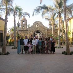 Our group at Cerritos Beach, Mexico in 2009. We all bid on this fabulous house in an auction!