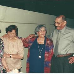 From left to right: Tomasita, Fara, Margarita, and Publio Carbonell