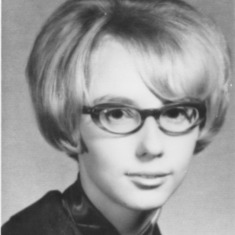 Marilyn James  High School graduation photo