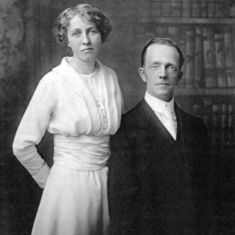 Marilyn's paternal grandparents;  Charles Wesley James and Marion Middleton James
