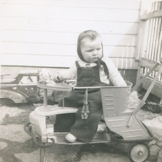 Marj - Age 1 - Learning to Drive Already?