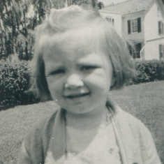 Marj at Age 3 - 1948