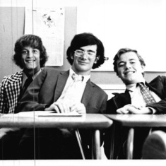 Student council meeting 1975