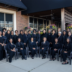 Members of the Queen City Chapter (Cincinnati, OH) of The Links, Incorporated