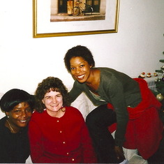 Betty, Shirley and Rashell kicking back at 555 Pierce!