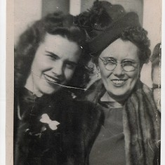 Mary and Margaree - New York 1940s