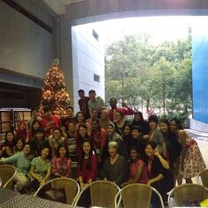 Christmas Party with Marketing, Admissions & SSH