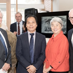 The opening of the new ANU Medical School in the old John Curtain School of Medical Research.