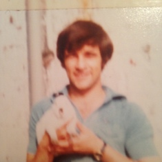 Me dad back in the 80s