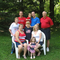 Our family July 4, 2009