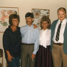 Lt to right,Carol, Mike, Sharon and Ron