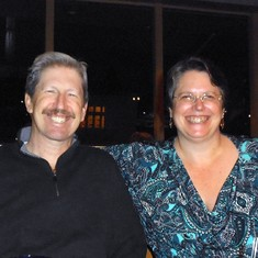 Mike & Lorelei ~ December 9, 2012 ~ You were a wonderful and loving brother, and will forever be in my heart!