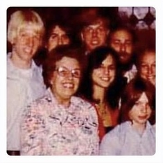 Family photo around 1977