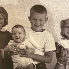 Mike and his siblings