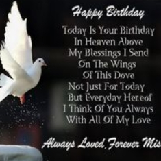 Miss you Michael so much. Happy Birthday my Dear Sweet Friend. I love you xxoo Vicky