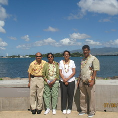 At Pearl Harbor, HI