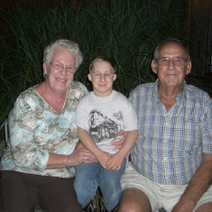 Grandma, Grandpa & Drake...Beautiful memories!