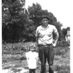Little Nancy with her Dad