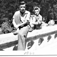 Ronnie and Nancy 1944
