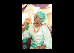 Mrs Nelly Iwenofu at her last son's wedding