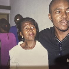 Mama Njende and her boy
