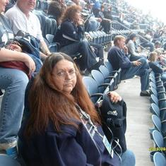 This is when I took her to the Hawks Game for her Birthday, 2009