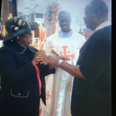 40 years Marriage renewal and Church Blessing 2013
