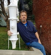 Pat knew every antique hydrant in every town.  This one's in Nevada City.
