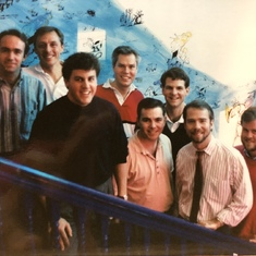 While living in DC, Phil sang in The Blenders with Kenyon, Gene, Gil, Tim, and Russ ('93)