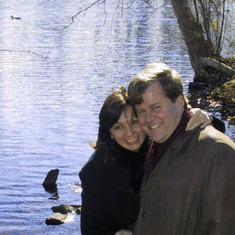 Thanksgiving 2003, Haverford College duck pond