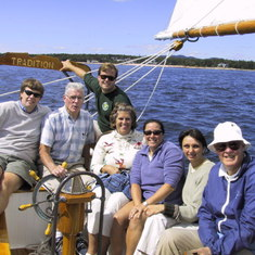 Sailing on the Western Way, Mt. Desert Island, ME