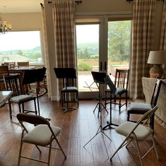 Flute Fun practice area - Thanks Judie for the new home :)