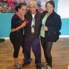 Zumba Instructor, Susy Gomez with Dad and Mom.