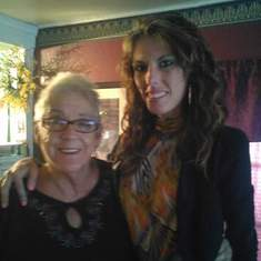 My grandma and me on thanksgiving 2015 I love you and miss you