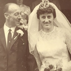 This has always been my favourite photo of my Mam and Dad as I love the way my Dad looks at my Mam ❤️❤️❤️ Xxxxx Photo taken on 15th October 1966