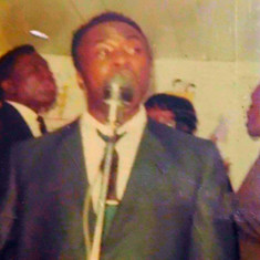 L. J. Jones of The Spiritual Allstars